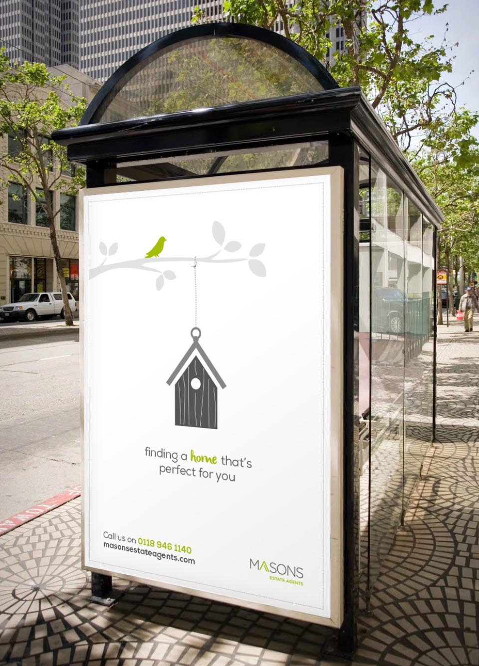 Masons-Estate-Agents-Advertising-Campaign-Reading-Bus-stop