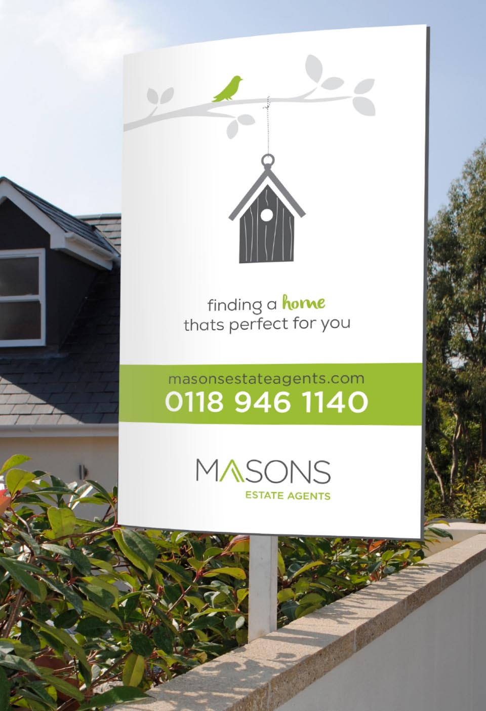 Masons-Estate-Agents-Advertising-Campaign-Reading-Sign
