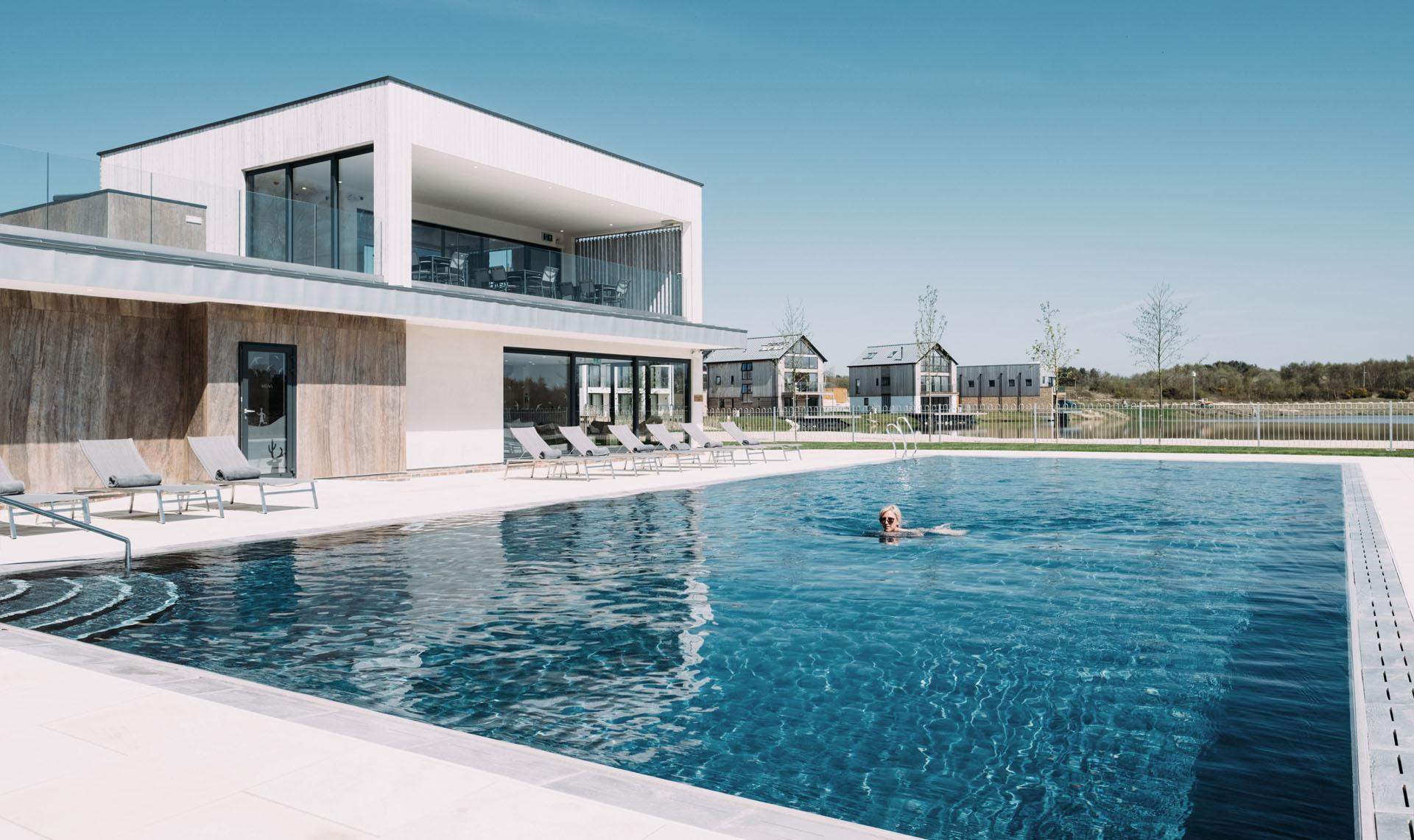 Silverlake-Dorset-Spa-Designers-Exterior-Pool-view