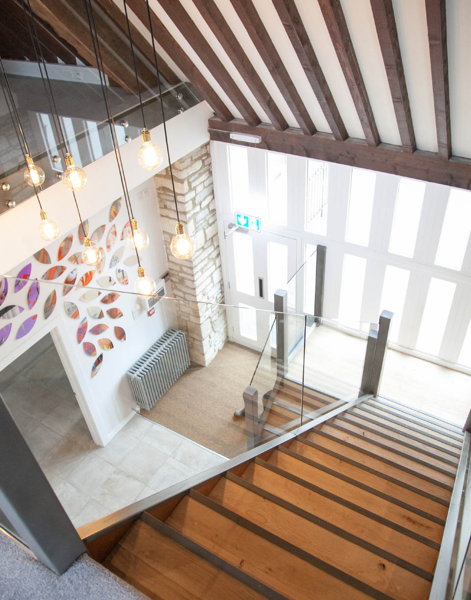 Habitat-First-Cotswolds-Barn-staircase-glass